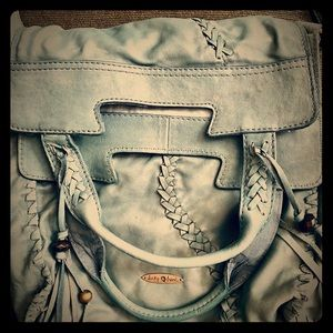 Leather Lucky Brand Convertible Shoulder Bag